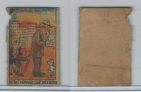 W Card, Strip Card, Universal Comic, 1920's, To The Farmers Coat