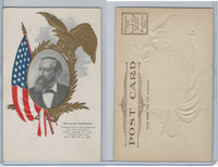 PC Post Card, Presidents of USA, 1906, Benjamin Harrison