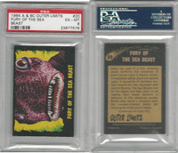 1964 A & BC, Outer Limits, #20 Fury of the Sea Beast, PSA 6 EXMT