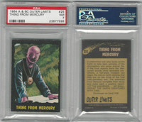 1964 A & BC, Outer Limits, #25 Thing From Mercury, PSA 7 NM