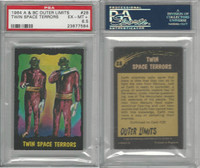 1964 A & BC, Outer Limits, #28 Twin Space Terrors, PSA 6.5 EXMT+