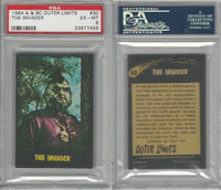 1964 A & BC, Outer Limits, #30 The Invader, PSA 6 EXMT