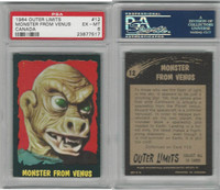 1964 O-Pee-Chee, Outer Limits, #12 Monster From Venus, PSA 6 EXMT