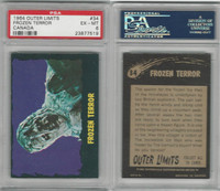 1964 O-Pee-Chee, Outer Limits, #34 Frozen Terror, PSA 6 EXMT