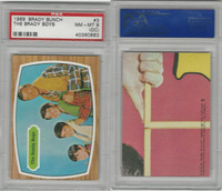 1971 Topps, Brady Bunch, #3 The Brady Boys, PSA 8 OC NMMT