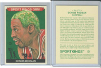 2010 Sport Kings Gum, Noted Athletes, #174 Dennis Rodman, Basketball