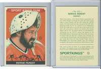 2010 Sport Kings Gum, Noted Athletes, #183 Bernie Parent, Hockey