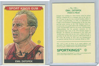 2010 Sport Kings Gum, Noted Athletes, #196 Emil Zatopek, Track