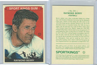2010 Sport Kings Gum, Noted Athletes, #201 Raymond Berry, Football