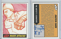 2012 Topps, Mars Attacks, Sketch Card, 1/1, Little House