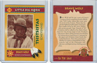 1994 Old West Legacy, Little Big Horn, #26 Brave Wolf, Cheyenne