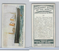C20 Imperial Tobacco, Merchant Ships, 1924, #10 SS Montrose