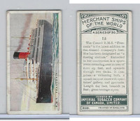 C20 Imperial Tobacco, Merchant Ships, 1924, #15 RMS Franconia