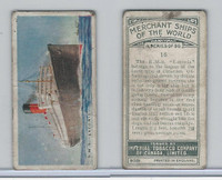 C20 Imperial Tobacco, Merchant Ships, 1924, #16 RMS Laconia