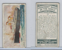 C20 Imperial Tobacco, Merchant Ships, 1924, #23 SS Conte Rosso