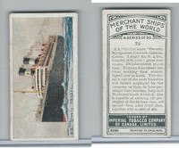 C20 Imperial Tobacco, Merchant Ships, 1924, #25 SS Giulio Cesare