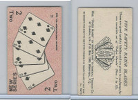 C27 Imperial Tobacco, Poker Hands, 1930, #2