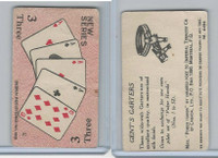 C27 Imperial Tobacco, Poker Hands, 1930, #3