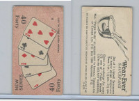 C27 Imperial Tobacco, Poker Hands, 1930, #40