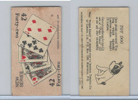 C27 Imperial Tobacco, Poker Hands, 1930, #42