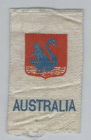 SC Canada Silk, National Emblems, 1910, Australia