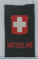 SC Canada Silk, National Emblems, 1910, Switzerland