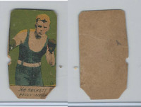 W Card, Strip Card, Boxing, 1920's, Joe Beckett