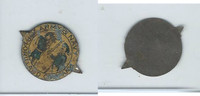Tin Tobacco Tag, 1890's-1910's, Army & Navy, Lorillard (Yellow)