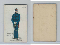 E7 Caramel, Soldier Cards, 1910, #3 English Lieutenant