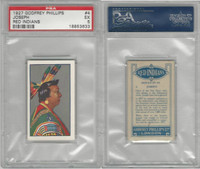 P50-78 Phillips, Red Indians, 1927, #4 Joseph, PSA 5 EX