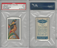 P50-78 Phillips, Red Indians, 1927, #4 Joseph, PSA 5.5 EX+