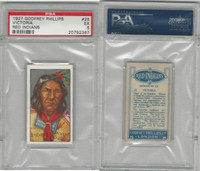 P50-78 Phillips, Red Indians, 1927, #25 Victoria, PSA 5 EX