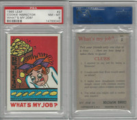1965 Leaf, What's My Job, #2 Cookie Inspector, PSA 8 NMMT