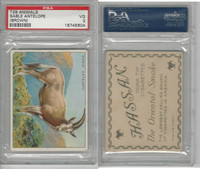 T29 Hassan Cigarettes, Animals, 1911, Sable Antelope Brown, PSA 3 VG