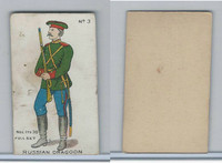 E7 Caramel, Soldier Cards, 1910, #3 Russian Dragoon