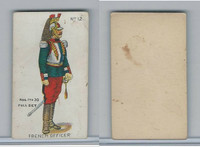 E7 Caramel, Soldier Cards, 1910, #12 French Officer