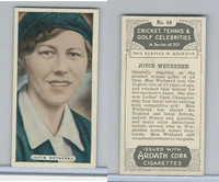 A72-18a Ardath, Cricket, Tennis, Golf Celeb., 1935, #48 Joyce Wethered