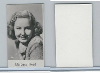B0-0 Bridgewater, Film Stars 8th Series, 1940, #24 Barbara Read