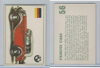 D0-0 Deposito, Famous Cars, 1971, #56 BMW 315