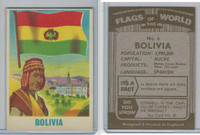 F0-0 England, Flags of the World, 1950's, #6 Bolivia