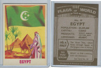 F0-0 England, Flags of the World, 1950's, #19 Egypt
