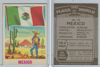 F0-0 England, Flags of the World, 1950's, #34 Mexico