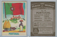 F0-0 England, Flags of the World, 1950's, #40 Portugal