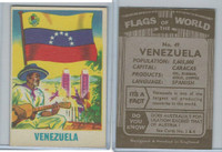 F0-0 England, Flags of the World, 1950's, #49 Venezuela
