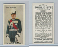 P50-112 Phillips, In The Public Eye, 1935, #11 Lord Trenchard