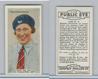 P50-112 Phillips, In The Public Eye, 1935, #37 Wanda Morgan, Golf