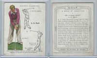 P72-105 Player, Golf, 1939, #3 A.G. Beck