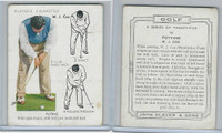 P72-105 Player, Golf, 1939, #10 W. J. Cox