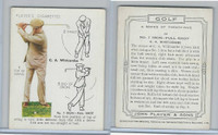 P72-105 Player, Golf, 1939, #24 C.A. Whitcombe