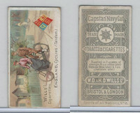 W62-48 Wills, Sports Of All Nations, 1901, #18 England, Cycling Tandem